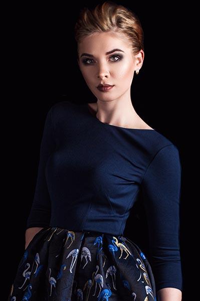 Екатерина - самый красивый ведущий в мафию